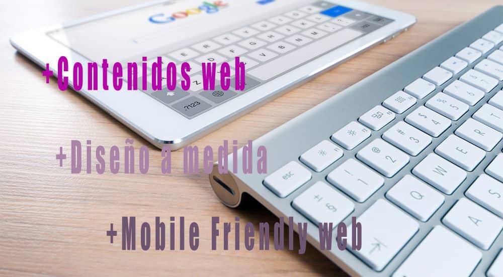 contenidos para web y seo