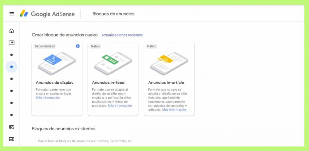 Adsense optimizacion web