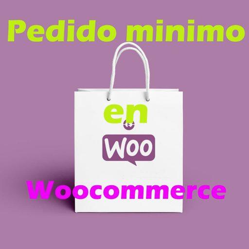 Pedido mínimo en Woocommerce